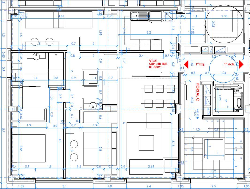 Vivienda disponible en d rsena de valdebebas momentum for Planos de viviendas de una planta